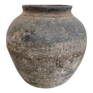 Petite Size Vintage Clay Pot For Sale