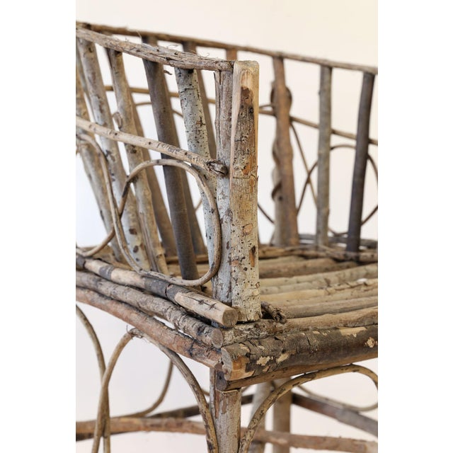 Antique French Twig Chair For Sale - Image 12 of 13