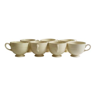 Midcentury Wedgwood of Etruria & Barloston Edme Tea or Coffee Cups - Set of 7 For Sale