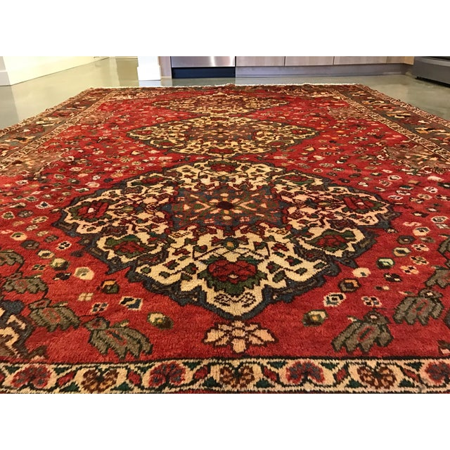 Large Hand Knotted Persian Rug - 6'11x10'0 - Image 3 of 11