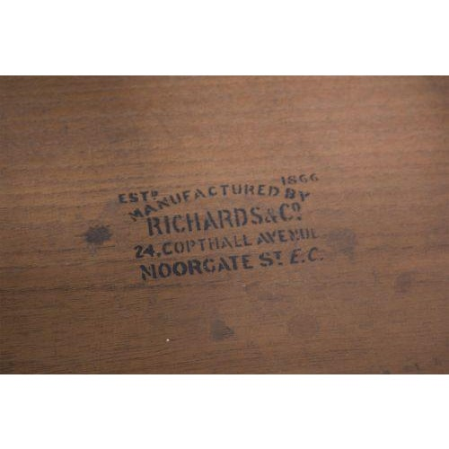 Late 19th Century English Mahogany Roll Top Desk For Sale In San Francisco - Image 6 of 7