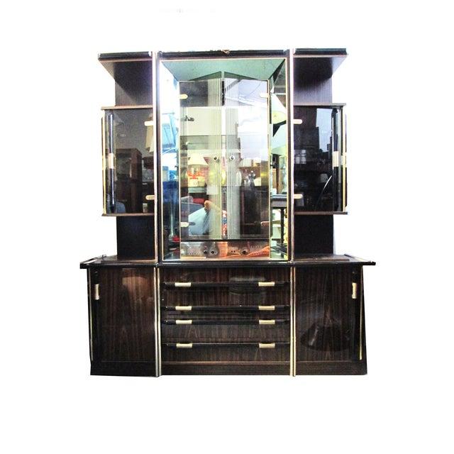 Entertainment Bar & Mivox Stereo Hutch - Image 1 of 10