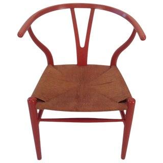 Early Original Hans Wegner Wishbone Y Chair Carl Hansen, Denmark For Sale