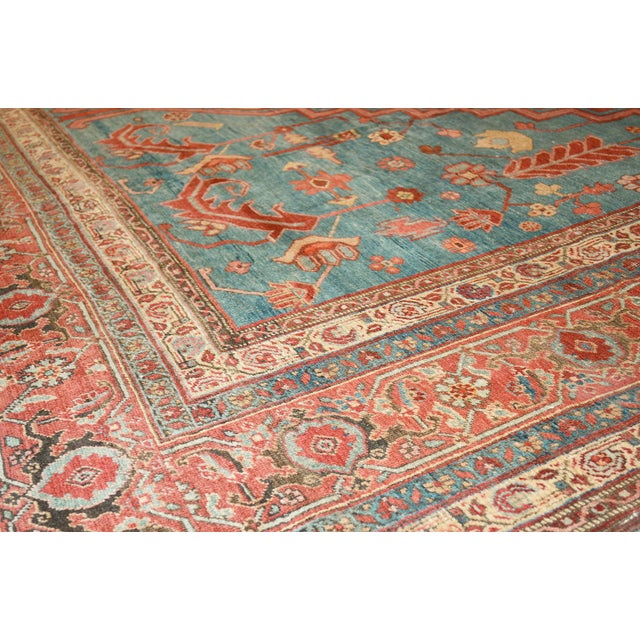 "Pasargad Antique Bakhshayesh Rug- 11'1"" X 20'6"" - Image 3 of 3"