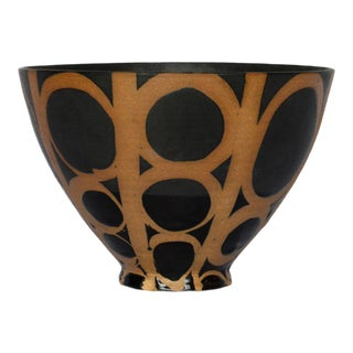 Studio Pottery Bowl by Liz Kinder For Sale