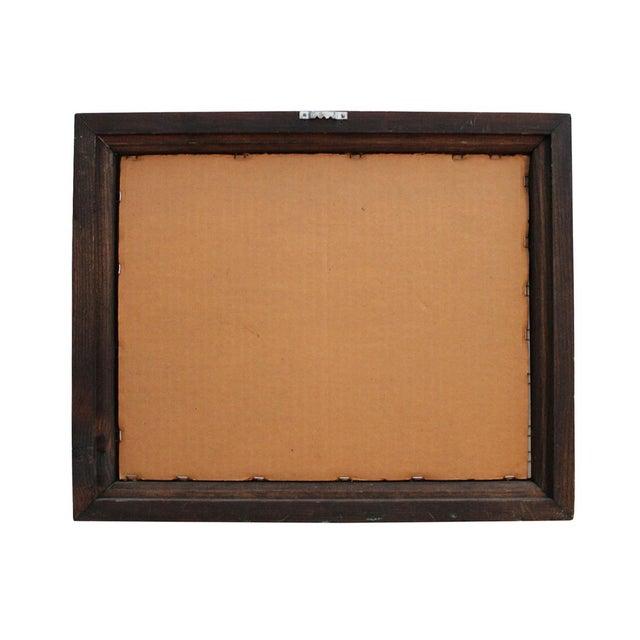 """Vintage Framed """"Sunkist"""" Ad For Sale - Image 4 of 4"""