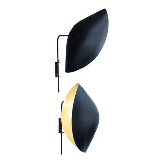 Serge Mouille Design Wall Light - A Pair For Sale