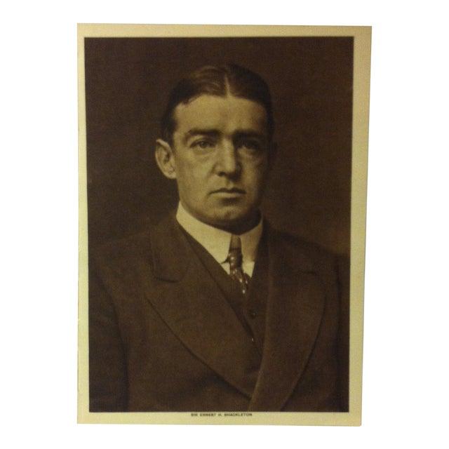 "Circa 1915 ""Sir Ernest H. Shackleton"" the Mentor Association Print For Sale"