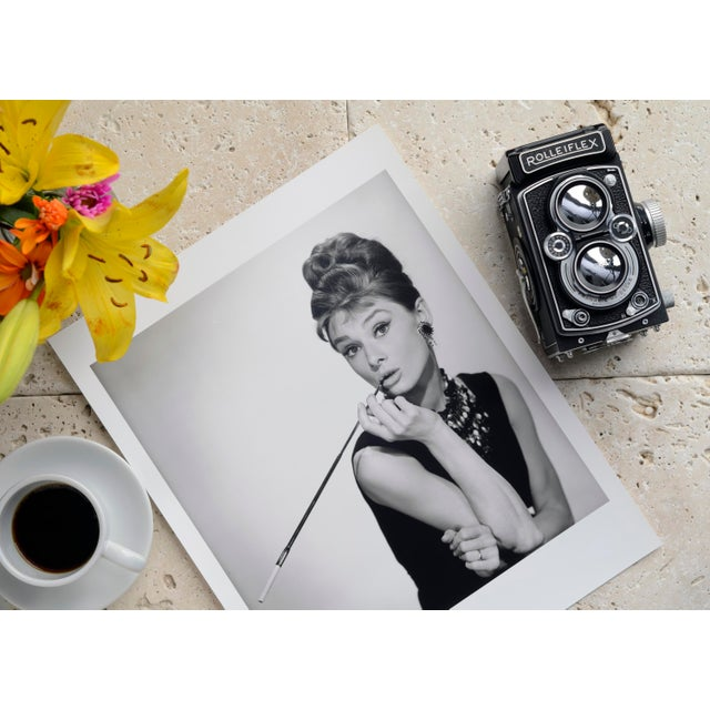 "Mid-Century Modern Audrey Hepburn in ""Breakfast at Tiffany's"" 1961 For Sale - Image 3 of 5"