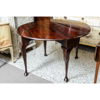English Mahogany Drop Leaf Table Preview