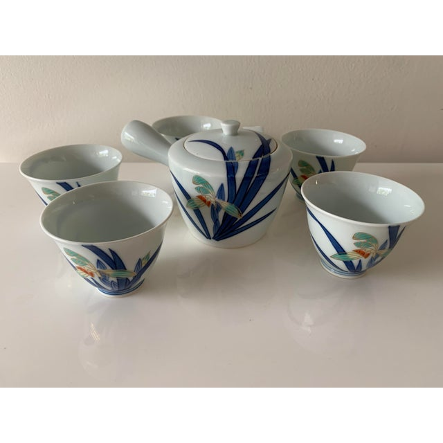 Japanese Contemporary Imaizumi Imaemon Tea Set - 6 Pieces For Sale - Image 12 of 12