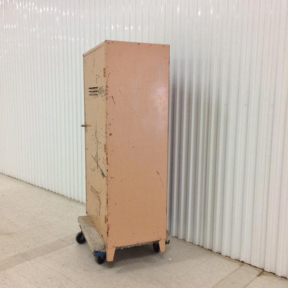 Vintage Industrial Steel Storage Cabinet - Image 4 of 6