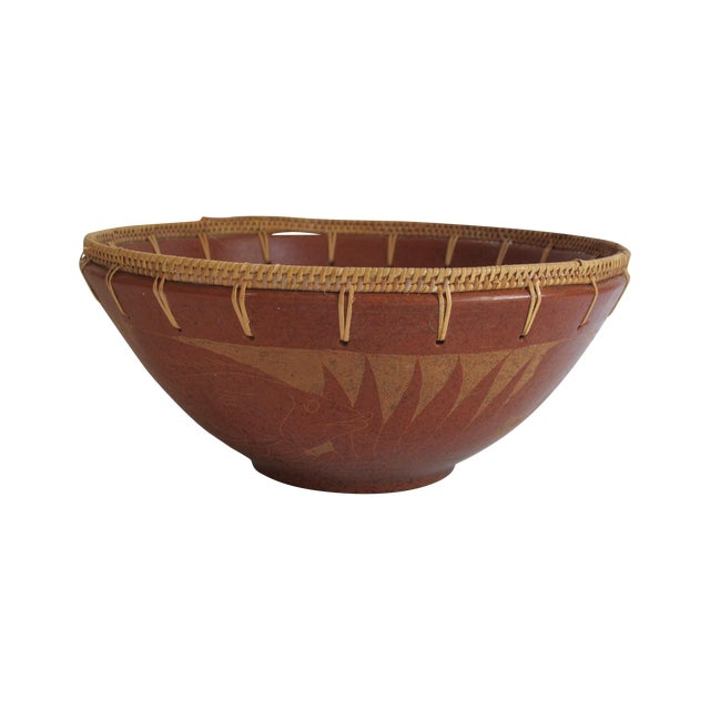Terracotta Fish Bowl - Image 1 of 5