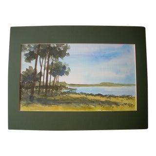 Chantal Herran Watercolor Painting For Sale