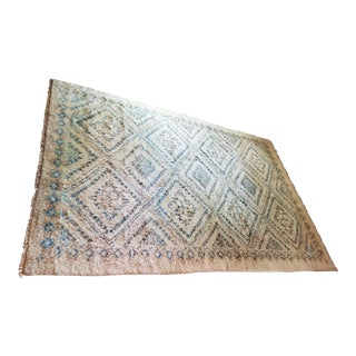 Moroccan Area Rug - 6′ × 8′11″ For Sale