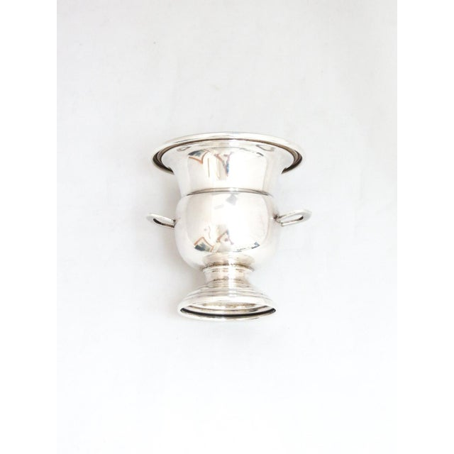Traditional Dunkirk Silversmith Sterling Champagne Bucket Toothpick Holder For Sale - Image 3 of 7