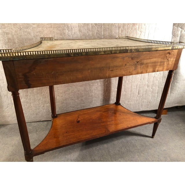 Louis XVI French Louis XVI Console Table c.1800 For Sale - Image 3 of 9