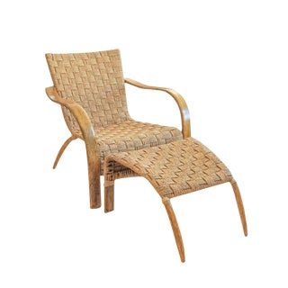 Mid-Century French Rope Chair