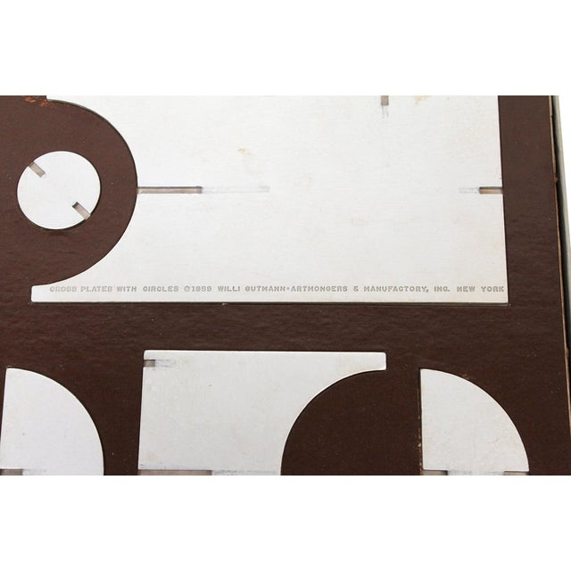 1960s Modular Sculpture by Willi Gutmann for Alcoa For Sale - Image 12 of 13