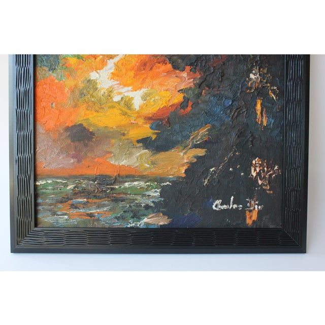 Abstract Landscape by Charles Dix For Sale - Image 5 of 6