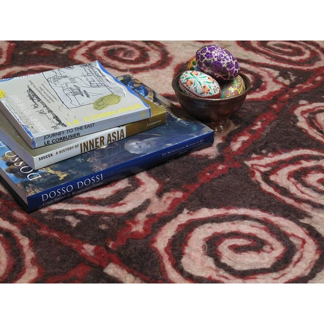 Central Asian Felt Carpet For Sale In New York - Image 6 of 9