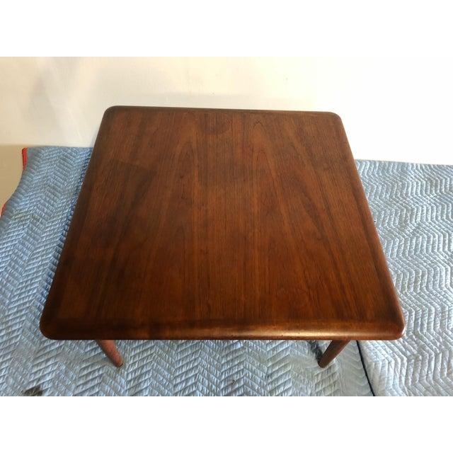 Mid-Century Modern Mid-Century Modern Johannes Andersen Rattan Shelf Coffee Table For Sale - Image 3 of 7
