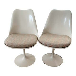 1950s Vintage Knoll Armless Tulip Chairs- A Pair For Sale