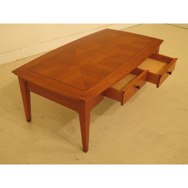 Brown Arts & Crafts Harden 2-Drawer Coffee Table For Sale - Image 8 of 13