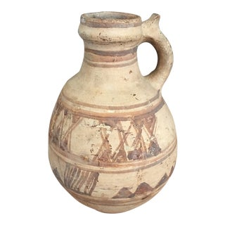 Terra Cotta Pottery Pitcher