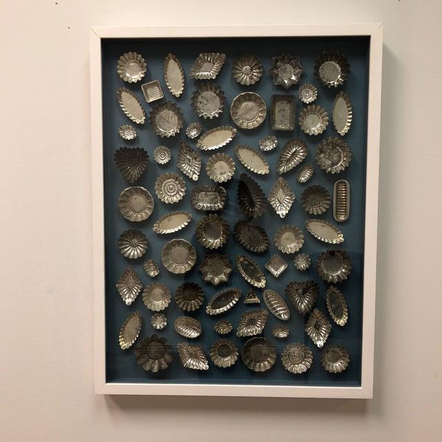 Framed Collection of Tart Molds For Sale - Image 9 of 11