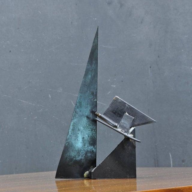 Brutalist Vintage 1960s-1970s Studio Craft Brutalist Welder Table Sculpture For Sale - Image 3 of 6