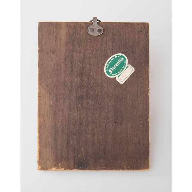 Mid 20th Century Vintage Italian Florentine Gilt Wood Wall Hooks For Sale - Image 5 of 6