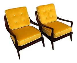 Image of Mid-Century Modern Office Chairs
