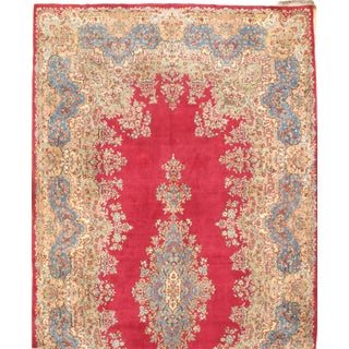 """Pasargad Antique Persian Royal Kerman Hand-Knotted Rug - 10′10"""" × 22"""" For Sale"""