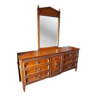 Dixie American Made Sideboard With Detachable Mirror