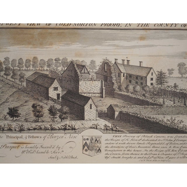 Antique Folio Size Architectural Engraving - Image 3 of 4