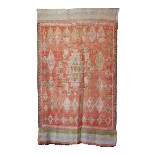 Vintage Tribal Moroccan Rug For Sale