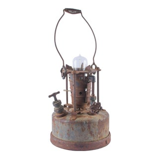 Antique Industrial Table Lamp 1920s For Sale