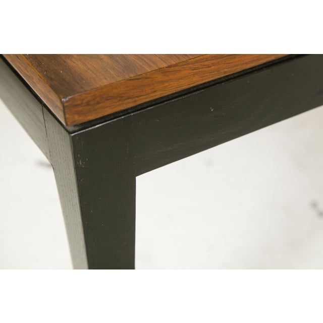 1960s Rosewood Ebonized Cocktail or Coffee Table - Image 3 of 6