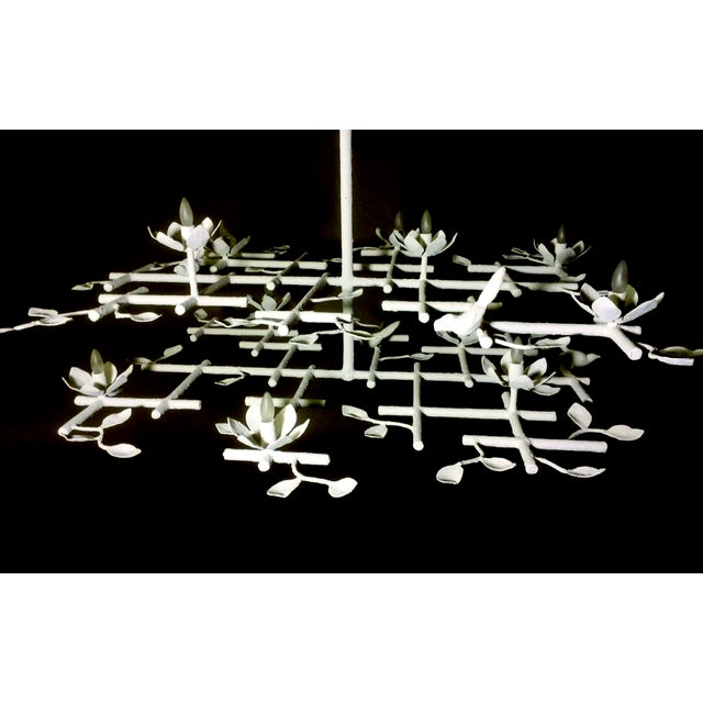 2 Layer Garden Chandelier For Sale - Image 11 of 13