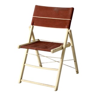Mid-Century Folding Chair For Sale