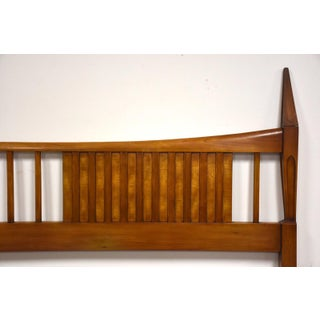 John Widdicomb King Mid Century Modern Walnut Headboard Preview