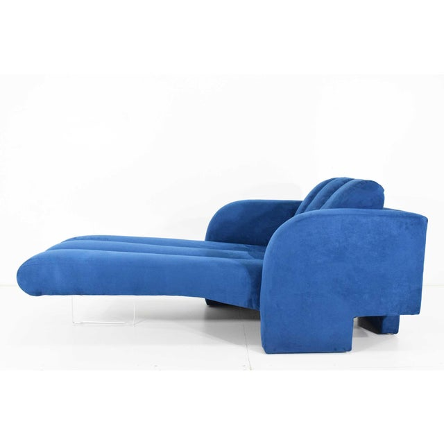 1970s Vladimir Kagan Deco Chaise For Sale - Image 12 of 12