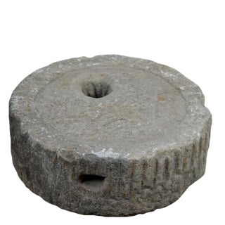 Granite Mill Stone Top Water Fountain For Sale