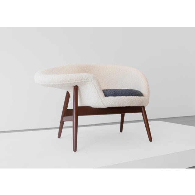 "Danish Modern Hans Olsen ""Fried Egg"" Chair, C. 1956 For Sale - Image 3 of 6"