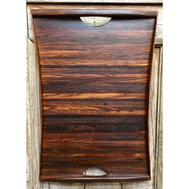 Don Shoemaker Exotic Hardwood Serving Tray For Sale - Image 13 of 13