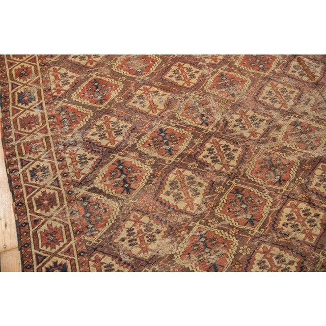 "Antique Beshir Carpet - 8'9"" X 14' For Sale - Image 12 of 13"