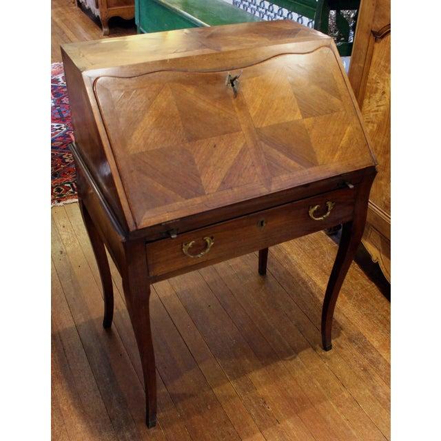 Country French Bonheur Du Jour Desk For Sale - Image 4 of 6