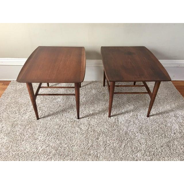 Bassett Side Tables - Pair - Image 3 of 11