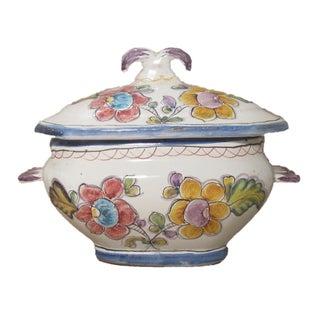 Vintage Portuguese Coimbra Pottery Tureen Preview